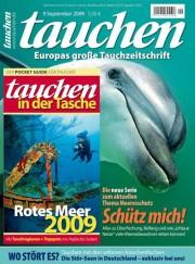 Die September-Ausgabe der Zeitschrift tauchen
