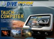 Die aktuelle Ausgabe von DiveInside mit dem Schwerpunktthema Tauchcomputer