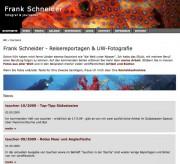 Die neue Website von Frank Schneider