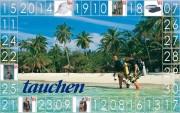 Gewinnspiel: Sommerkalender auf www.tauchen.de