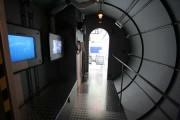 """Das elf Meter lange U-Boot in der Ausstellung """"Tiefsee"""""""