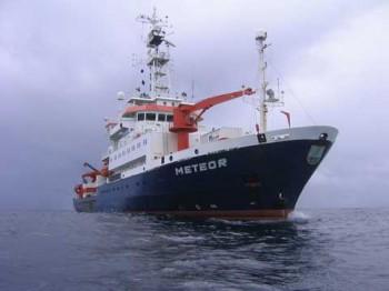 Das Forschungsschiff Meteor