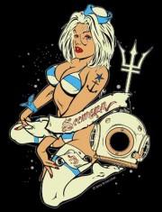 Betty, das neue Tatoo-Motiv auf Seemann-Shirts