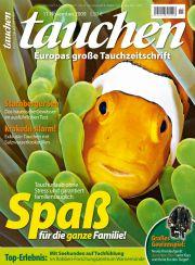 Heute erschienen: die November-Ausgabe von <em>tauchen</em>