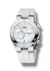 "Die ""Oris Divers Titan Small Second, Date Diamonds"""