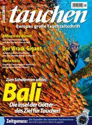 Die Dezember-Ausgabe von <em><b>tauchen</b></em>