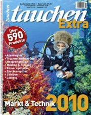 """Das neue """"<em><b>tauchen</b></em> Extra Markt & Technik 2010"""""""