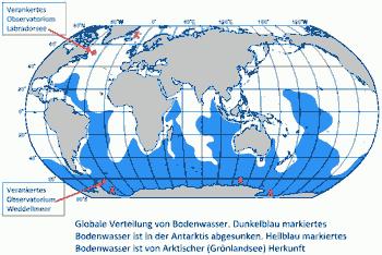 Globale Verteilung von Bodenwasser
