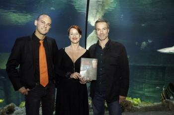 Nicolas Entrup, Judith Adlhoch und Hannes Jaenicke