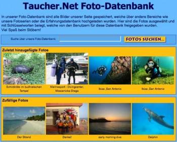Tauchernet Foto-DB