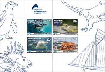 Briefmarken-Set