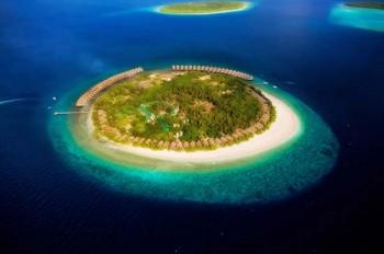 J Resort Alidhoo Luftaufnahme