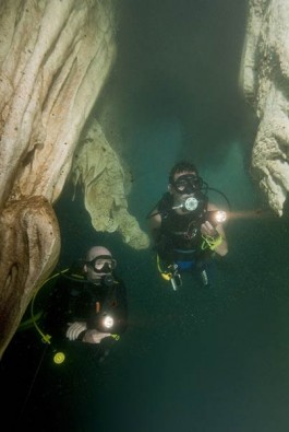 Höhlentauchen, Foto: Frank Schneider