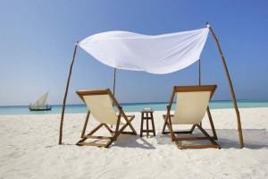 Relaxen am Strand, Foto: © Velassaru Maldives