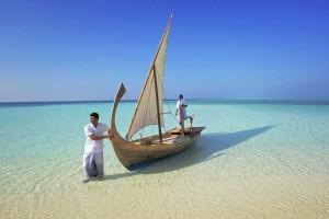 Am Strand, Foto: © Velassaru Maldives