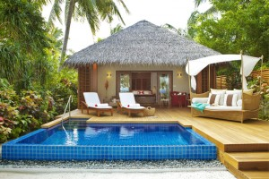 Privater Pool, Foto: © Baros Maldives