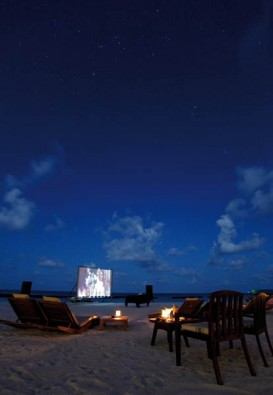 Freiluftkino, Foto: © Coco Palm Resorts