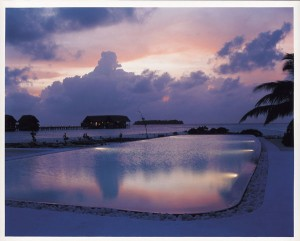 Cocoa Island Resort: Pool, Foto: © COMO Hotels and Resorts