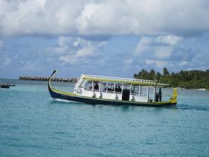 Tauchboot, Foto: © Divepoint Maldives