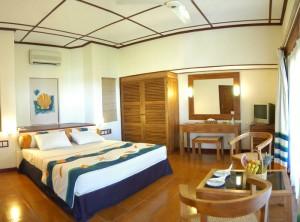 Schlafzimmer, Foto: @ Adaraan Club Rannalhi