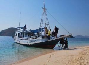 Reefseekers-Tauchboot, Foto: © Angel Island Resort