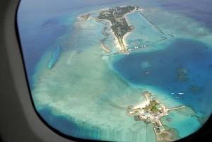 Malediven aus der Luft, Foto: G. Nowak