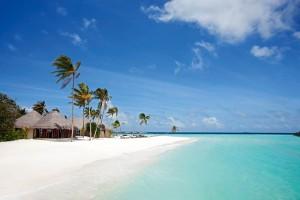 Der Strand der Insel, Foto: @ Constance Halaveli Resort