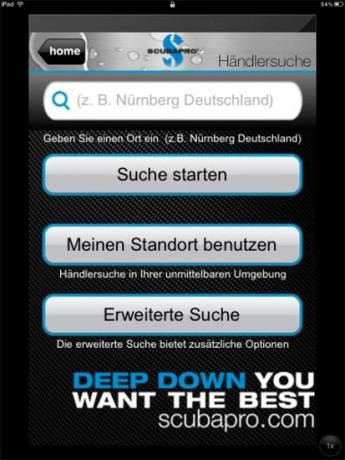 Scubapro-App