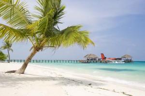 LUX* Maldives Resort & Spa: Ankunft mit dem Waserflugzeug, Foto: © LUX* Island Resorts