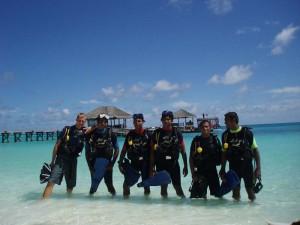 Tauchbasisteam der Euro-Divers, Foto: © Euro-Divers
