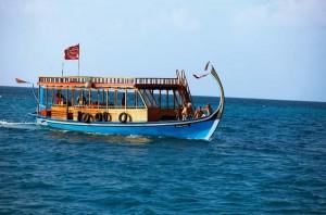 Das Tauchboot der Euro-Divers, Foto: © LUX* Island Resorts