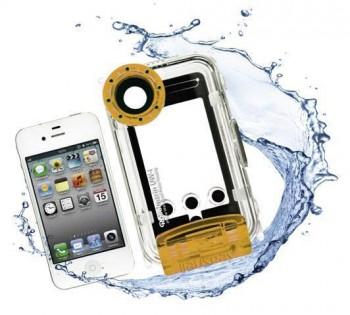 iPhone und Rolleimarin UW-i