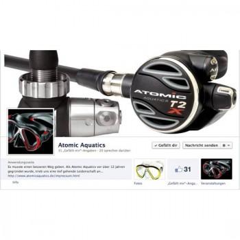 Atomic Aquatics auf Facebook