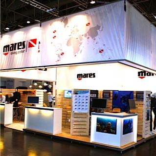 Mares-Messestand