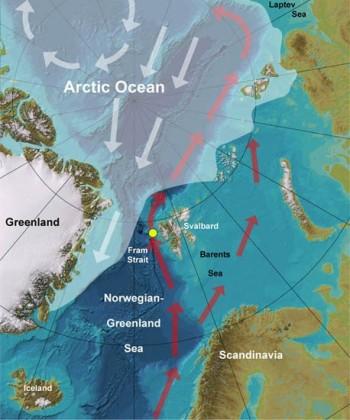 Grönlandsee und Arktischer Ozean