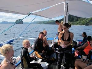Spaß auf dem Tauchboot, Foto: © Submariner Diving Center