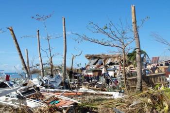 Zerstörungen auf Malapascua