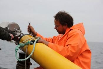 Ausfahrt zum Schweinswal-Monitoring