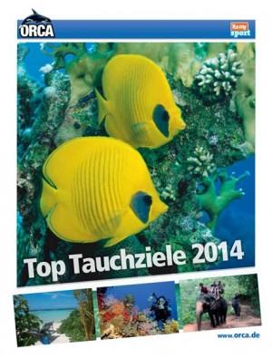 Orca Top Tauchziele 2014