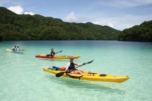 Kayaktour Palau,Foto: © Ron Leidich