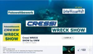 UW-Fotowettbewerb: Cressi WRECK SHOW