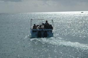 Ausfahrt, Foto: © Euro-Divers
