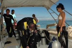 Tauchbetrieb, Foto: © Euro-Divers