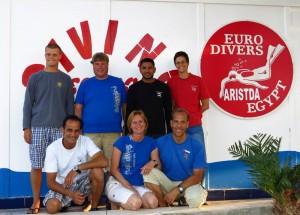 Tauchbasen-Team, Foto: © Euro-Divers