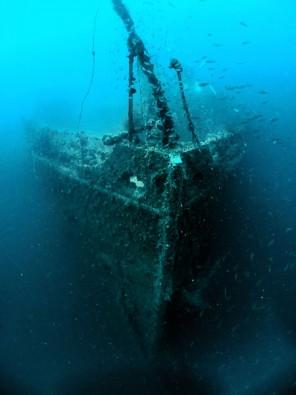 Das Wrack der Rosalie Moller, Foto: © Euro-Divers