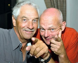 Toni Mayer und Martin Bibel