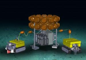Entwurfsskizze eines FRAM-Tiefseemoduls