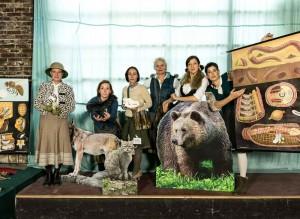 Das Ensemble von Fräulein Brehms Tierleben