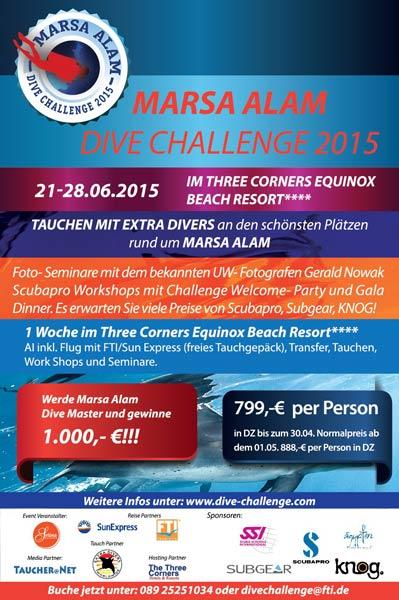 Marsa Alam Dive Challenge 2015