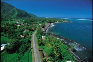 Grandioses Panorama auf Tahiti
